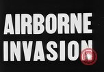 Image of Airborne invasion maneuvers United Kingdom, 1944, second 8 stock footage video 65675056363