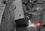 Image of SS Normandie capsized New York United States USA, 1943, second 9 stock footage video 65675056392