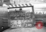 Image of Military Police Cologne Germany, 1945, second 2 stock footage video 65675056400