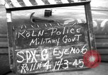 Image of Military Police Cologne Germany, 1945, second 4 stock footage video 65675056400