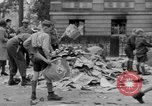 Image of Nazi emblem burnt Cologne Germany, 1945, second 4 stock footage video 65675056409