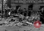 Image of Nazi emblem burnt Cologne Germany, 1945, second 9 stock footage video 65675056409