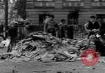 Image of Nazi emblem burnt Cologne Germany, 1945, second 11 stock footage video 65675056409