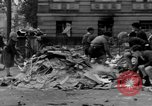 Image of Nazi emblem burnt Cologne Germany, 1945, second 12 stock footage video 65675056409