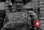 Image of Nazi emblem removed Cologne Germany, 1945, second 1 stock footage video 65675056410