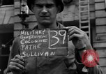Image of Nazi emblem removed Cologne Germany, 1945, second 2 stock footage video 65675056410