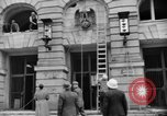 Image of Nazi emblem removed Cologne Germany, 1945, second 6 stock footage video 65675056410