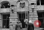 Image of Nazi emblem removed Cologne Germany, 1945, second 9 stock footage video 65675056410