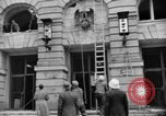 Image of Nazi emblem removed Cologne Germany, 1945, second 11 stock footage video 65675056410