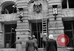 Image of Nazi emblem removed Cologne Germany, 1945, second 12 stock footage video 65675056410