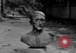 Image of Bronze bust of Adolf Hitler Cologne Germany, 1945, second 4 stock footage video 65675056411