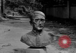 Image of Bronze bust of Adolf Hitler Cologne Germany, 1945, second 5 stock footage video 65675056411