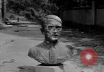 Image of Bronze bust of Adolf Hitler Cologne Germany, 1945, second 7 stock footage video 65675056411