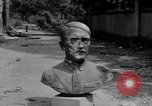 Image of Bronze bust of Adolf Hitler Cologne Germany, 1945, second 8 stock footage video 65675056411