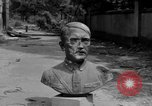 Image of Bronze bust of Adolf Hitler Cologne Germany, 1945, second 9 stock footage video 65675056411