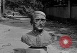 Image of Bronze bust of Adolf Hitler Cologne Germany, 1945, second 10 stock footage video 65675056411