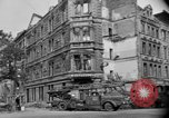 Image of building demolished Cologne Germany, 1945, second 8 stock footage video 65675056412