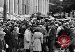 Image of German newspaper distribution Cologne Germany, 1945, second 12 stock footage video 65675056413