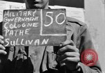 Image of Military Government notices Cologne Germany, 1945, second 2 stock footage video 65675056414