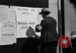Image of Military Government notices Cologne Germany, 1945, second 8 stock footage video 65675056414