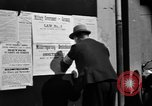 Image of Military Government notices Cologne Germany, 1945, second 9 stock footage video 65675056414