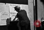 Image of Military Government notices Cologne Germany, 1945, second 12 stock footage video 65675056414