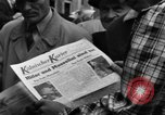 Image of newspaper Kolnischer Kurier Cologne Germany, 1945, second 9 stock footage video 65675056417