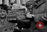 Image of newspaper Kolnischer Kurier Cologne Germany, 1945, second 2 stock footage video 65675056421