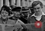 Image of newspaper Kolnischer Kurier Cologne Germany, 1945, second 4 stock footage video 65675056421