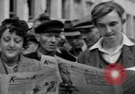 Image of newspaper Kolnischer Kurier Cologne Germany, 1945, second 6 stock footage video 65675056421