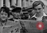 Image of newspaper Kolnischer Kurier Cologne Germany, 1945, second 7 stock footage video 65675056421