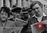 Image of newspaper Kolnischer Kurier Cologne Germany, 1945, second 8 stock footage video 65675056421