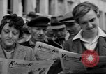 Image of newspaper Kolnischer Kurier Cologne Germany, 1945, second 11 stock footage video 65675056421