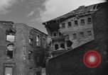 Image of partially demolished large building Cologne Germany, 1945, second 9 stock footage video 65675056423