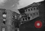Image of partially demolished large building Cologne Germany, 1945, second 10 stock footage video 65675056423
