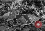 Image of Nazi symbols burnt Cologne Germany, 1945, second 6 stock footage video 65675056426