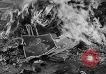 Image of Nazi symbols burnt Cologne Germany, 1945, second 8 stock footage video 65675056426