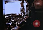 Image of Crew members seen at their respective positions inside a B-26 bomber France, 1945, second 1 stock footage video 65675056442