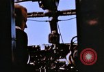 Image of Crew members seen at their respective positions inside a B-26 bomber France, 1945, second 4 stock footage video 65675056442