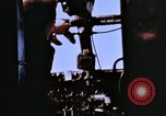 Image of Crew members seen at their respective positions inside a B-26 bomber France, 1945, second 6 stock footage video 65675056442
