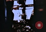 Image of Crew members seen at their respective positions inside a B-26 bomber France, 1945, second 8 stock footage video 65675056442