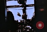 Image of Crew members seen at their respective positions inside a B-26 bomber France, 1945, second 9 stock footage video 65675056442