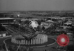 Image of crowds at the Worlds Fair New York United States USA, 1964, second 10 stock footage video 65675056499