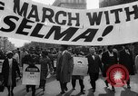 Image of Civil Rights march from Selma to Montgomery Alabama United States USA, 1965, second 5 stock footage video 65675056501
