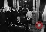 Image of Signing of Voting Rights Act 1965 Washington DC USA, 1965, second 10 stock footage video 65675056502