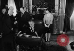 Image of Signing of Voting Rights Act 1965 Washington DC USA, 1965, second 11 stock footage video 65675056502