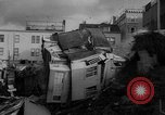 Image of Buildings collapse from flood erosion United States USA, 1965, second 5 stock footage video 65675056505