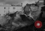 Image of Buildings collapse from flood erosion United States USA, 1965, second 6 stock footage video 65675056505