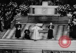 Image of Pope Paul VI at Saint Patrick's Cathedral and addressing UN New York United States USA, 1965, second 8 stock footage video 65675056506