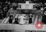 Image of Pope Paul VI at Saint Patrick's Cathedral and addressing UN New York United States USA, 1965, second 9 stock footage video 65675056506